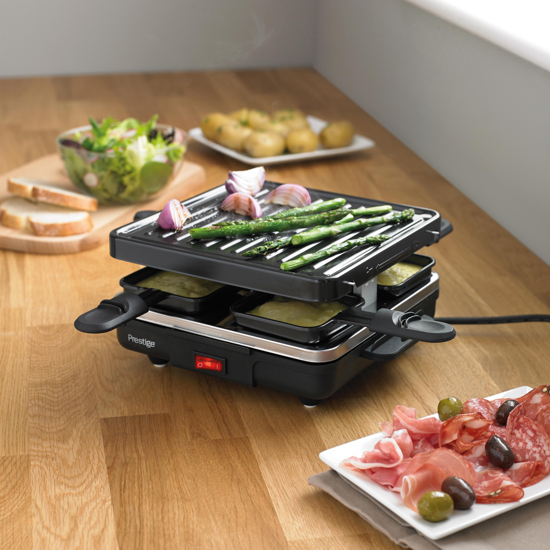 prestige mini grill raclette kitchen home. Black Bedroom Furniture Sets. Home Design Ideas
