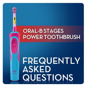 Oral-B Stages Vitality Princess Electric Rechargeable Toothbrush powered by Braun for kids