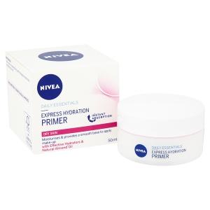 nivea, face cream, moisturiser, primer, make up
