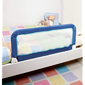 Safety 1st Portable Bed Rail Blue Amazon Co Uk Baby