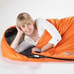 Large sleeping bag