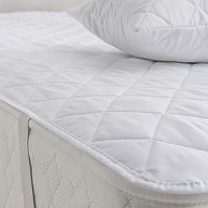Silentnight Egyptian Cotton Mattress Protector King Amazon Co