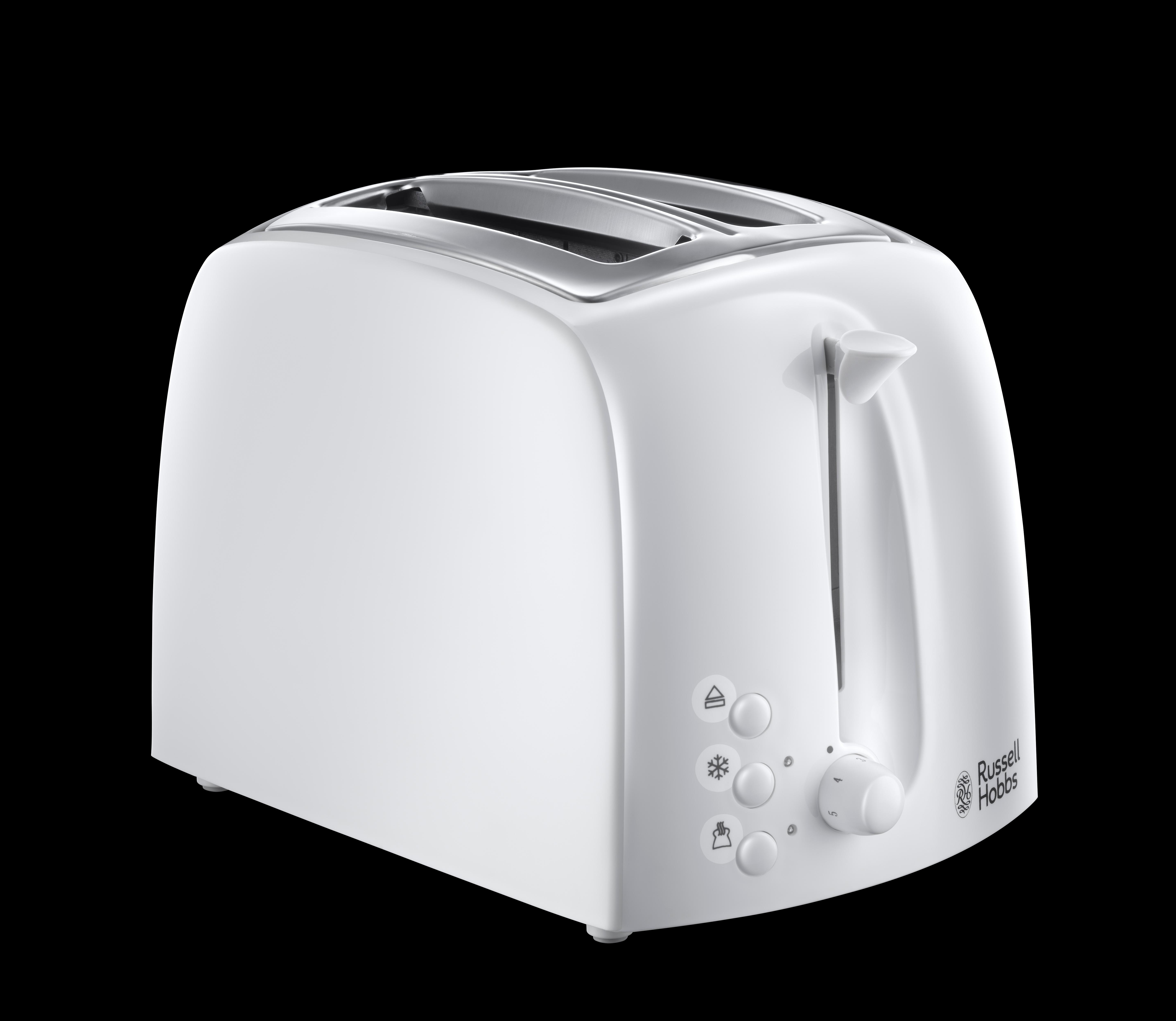 russell hobbs textures 2 slice toaster 21640 white kitchen home. Black Bedroom Furniture Sets. Home Design Ideas