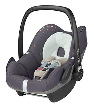 maxi cosi pebble group 0 car seat confetti. Black Bedroom Furniture Sets. Home Design Ideas