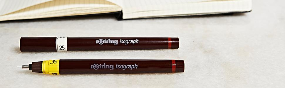 rOtring Isograph Technical Drawing Pen - Banner