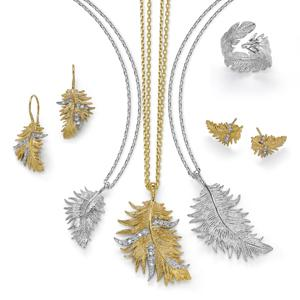 Jewellery, Sterling Silver, Dower & Hall, Feather