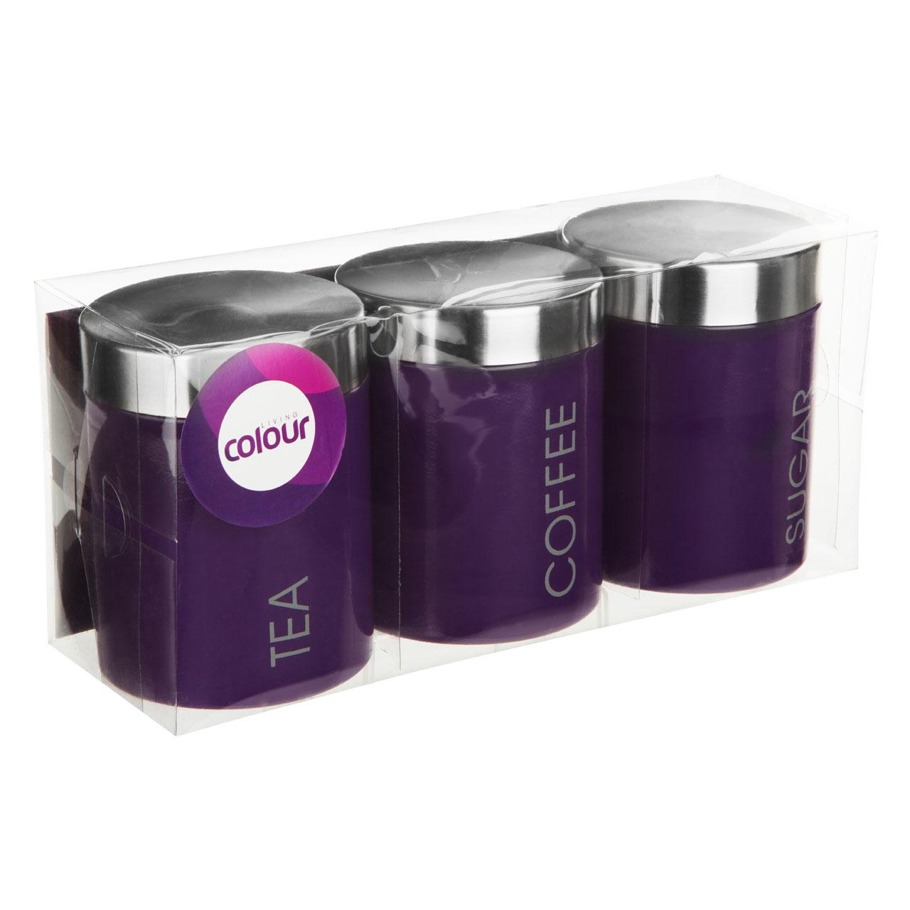 premier housewares liberty tea coffee and sugar canisters set kitchen canisters view larger
