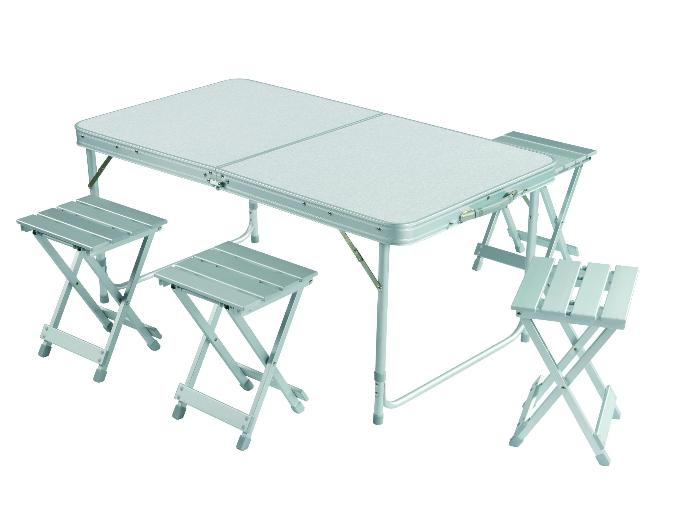 Grand Canyon Camping Table Set Foldable Portable Picnic Table With