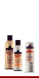 aussie miracle repair shampoo conditioner