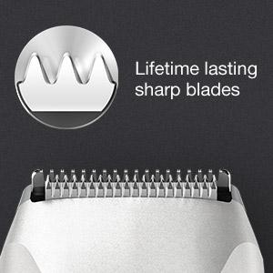 Braun BT5050 beard trimmer with lifetime lasting sharp blades