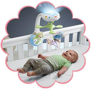 Fisher Price Butterfly Dreams Projection Mobile Playset