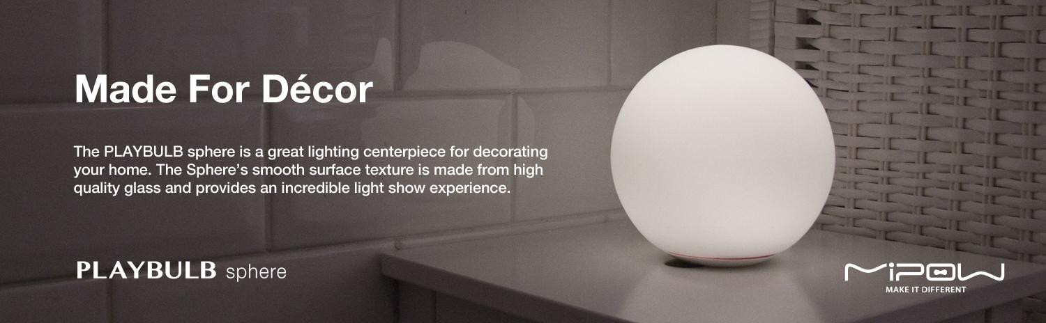 Made For Décor great lighting center piece decoration home & MIPOW PLAYBULB Sphere Bluetooth Smart LED Lamp Light: Amazon.co.uk ... azcodes.com
