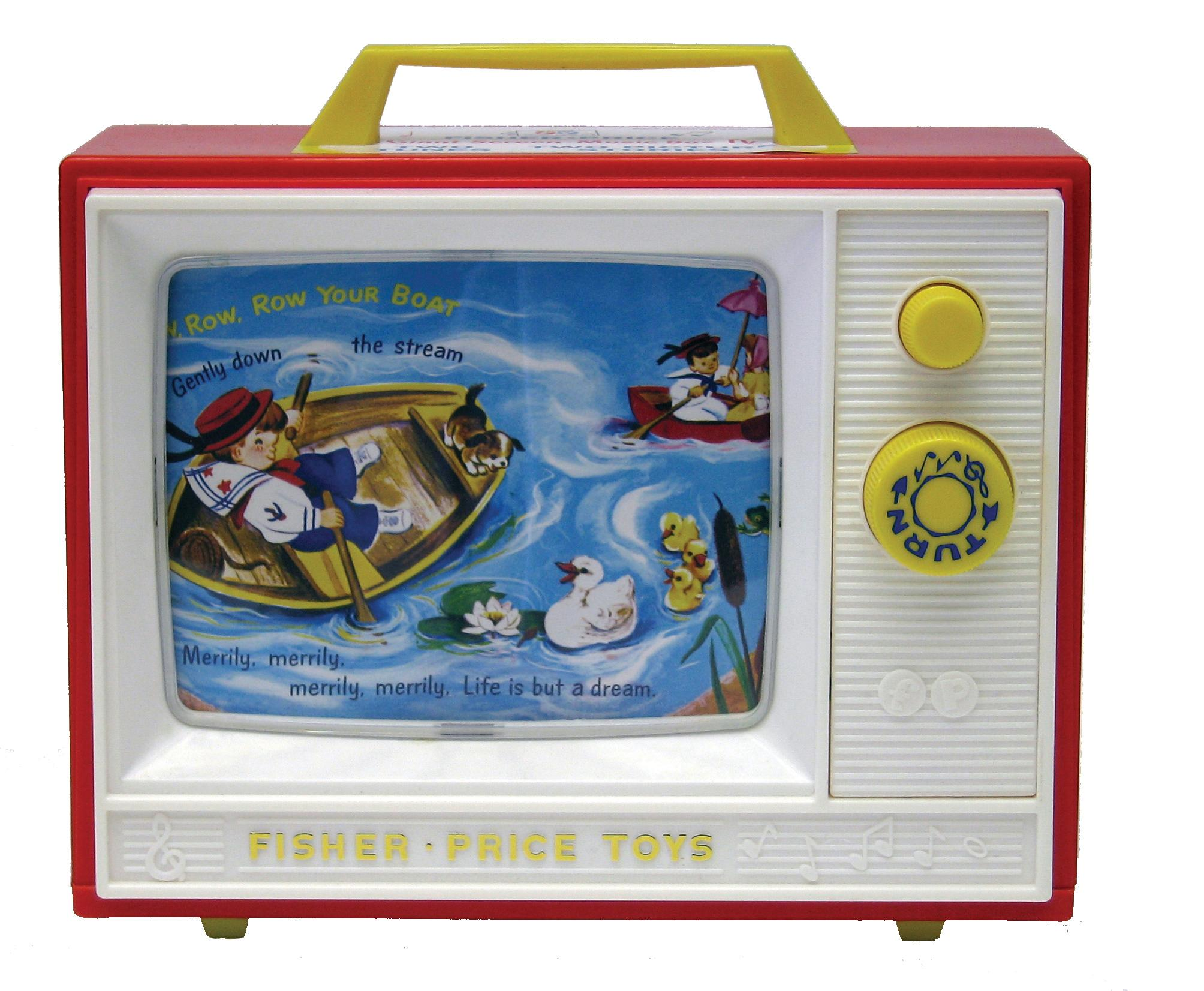 Fisher Price S1696 Bto0989 Classics Two Tune Television Amazonco Simple Car Sound System Diagram Images Pictures Becuo View Larger