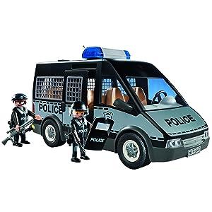 Playmobil 6043 City Action Police Van Amazon Co Uk Toys