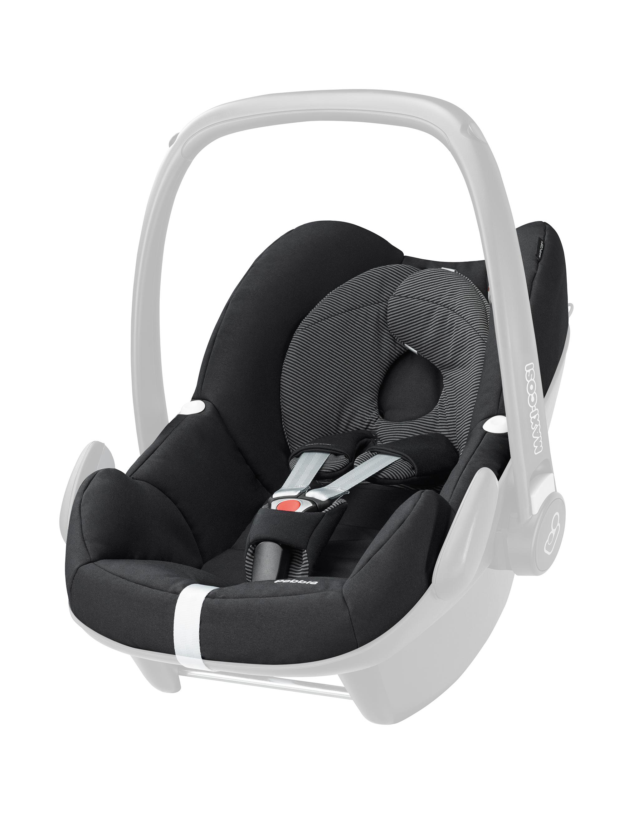 maxi cosi pebble car seat replacement cover black raven. Black Bedroom Furniture Sets. Home Design Ideas