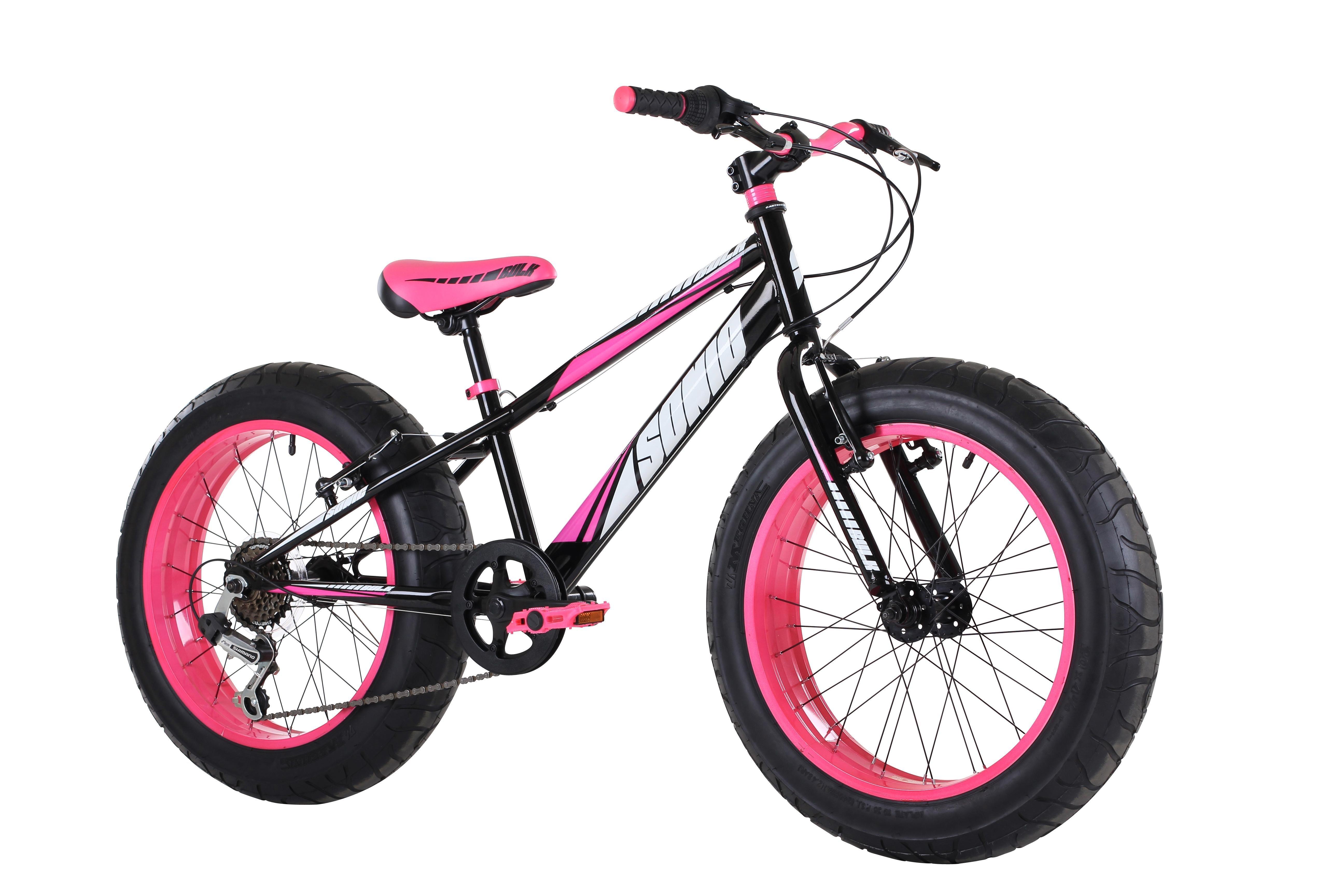 f0875df8a2765e Sonic Bulk kid's Fat Bike - Vivid Pink: Amazon.co.uk: Sports & Outdoors