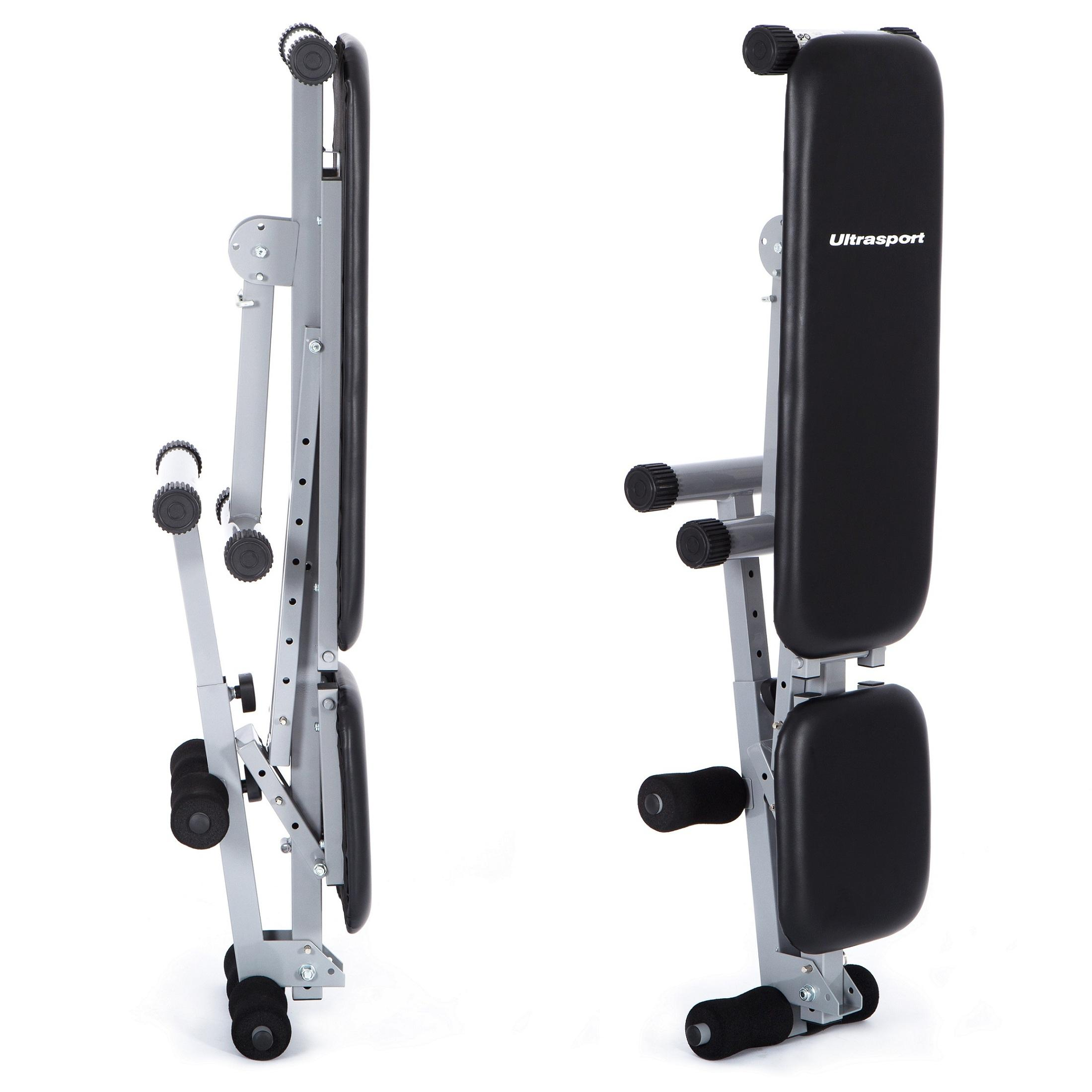 Adjustable Workout Weights: Ultrasport All-in-One Weight Bench, Adjustable Workout