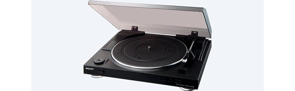Sony, PS-LX300USB, turntable, diamond stylus, USB connection