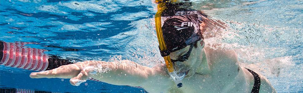 Swimmer's Snorkel usage image