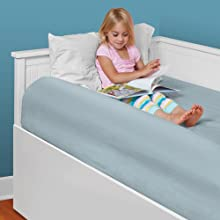 The Shrunks Sleep Secure Inflatable Bed Rail Bumper