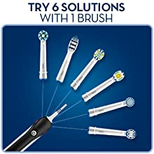 Oral-B Pro 2500 CrossAction Electric Rechargeable Toothbrush powered by Braun