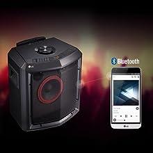 LG LOUDR Portable Bluetooth Boombox Speaker: Amazon.co.uk: TV