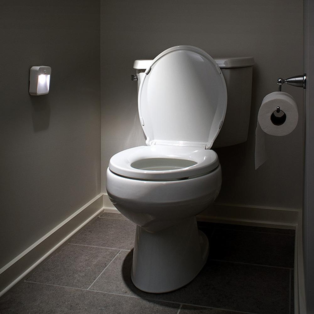 Automatic light sensor for bathroom - View Larger