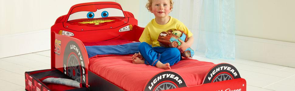 lightning mcqueen bed instructions