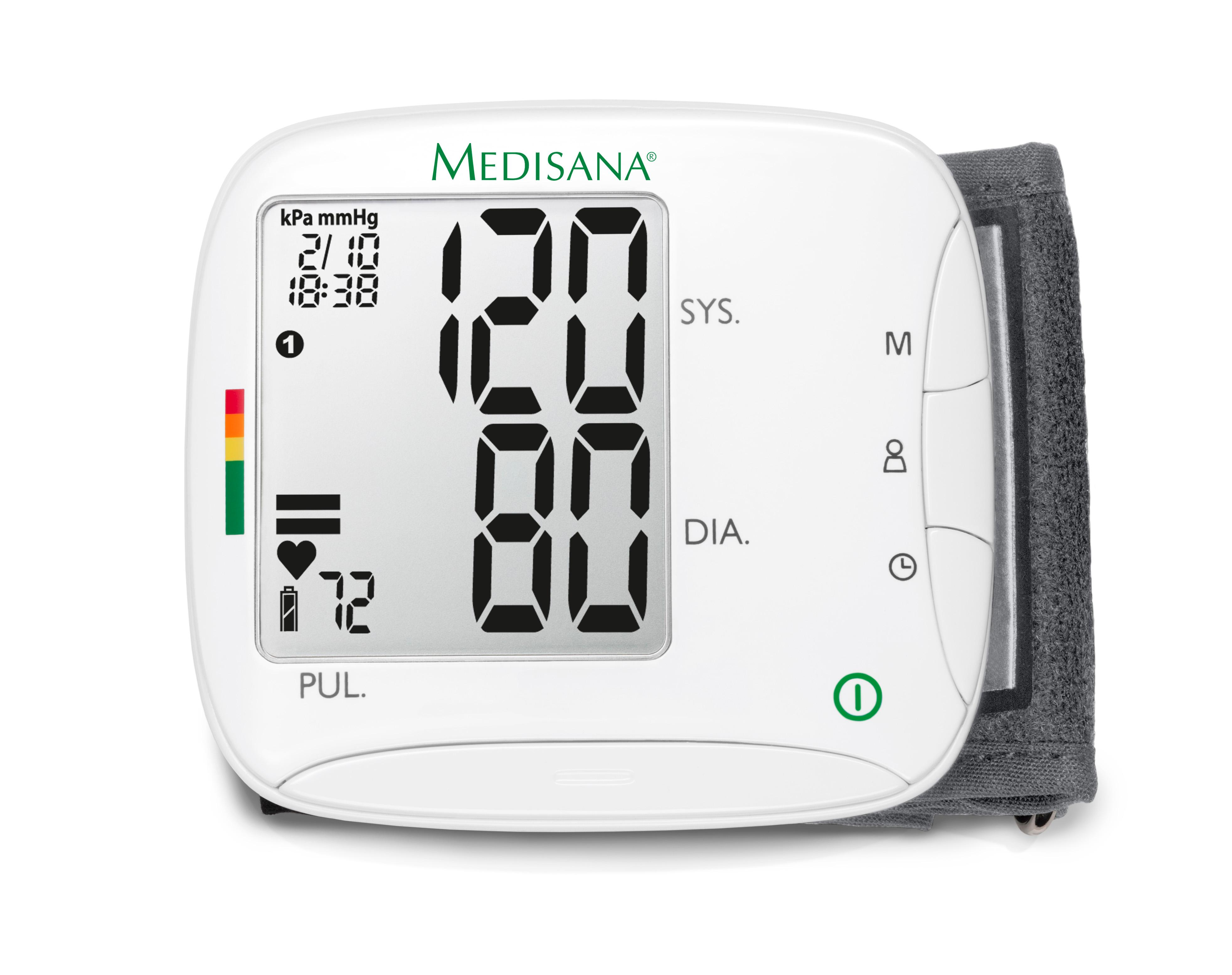 medisana wrist blood pressure monitor instructions