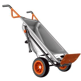 Worx, Workx, Aerocart, Aero cart, wheel barrow, wheelbarrow, garden tool, multi tool