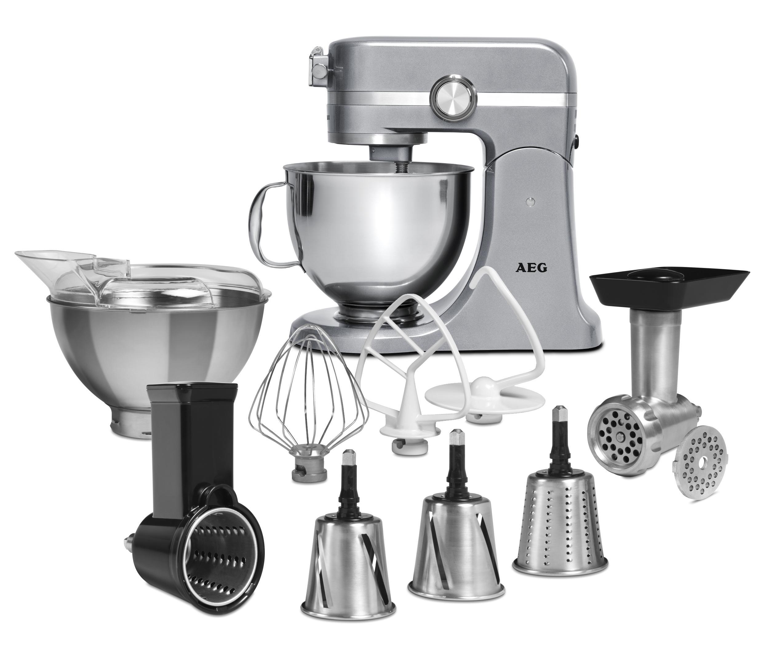 Kitchen Accessories Amazon Uk: AEG KM4700 Ultra Mix Kitchen Machine With Accessories