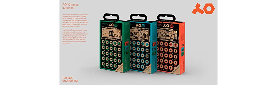 PO-10 Series Super Set packages