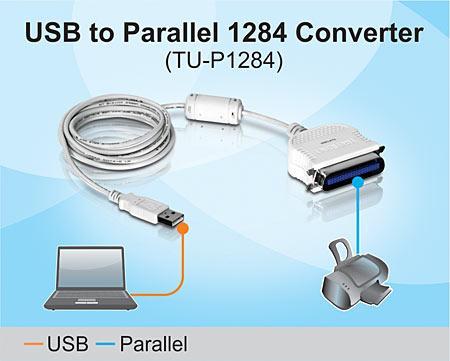 TRENDNET TU-P1284 USB TO PARALLEL 1284 CONVERTER DRIVER FOR WINDOWS MAC