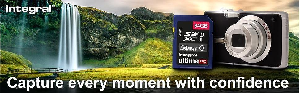 Integral Memory UltimaPro SDHC SDXC