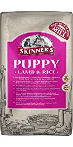 Skinner's; Puppy; Lamb & Rice