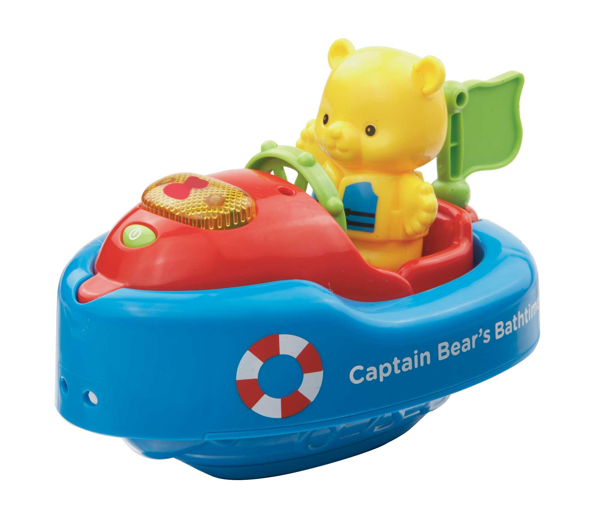 VTech Baby 151703 Bath Toy Captain Bear\'s Bathtime - Multicolor ...