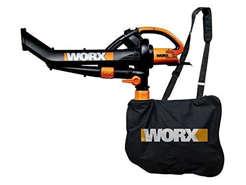 Worx Leaf Blower Vacuum Mulcher : Worx wg e w trivac garden blower mulcher and vacuum