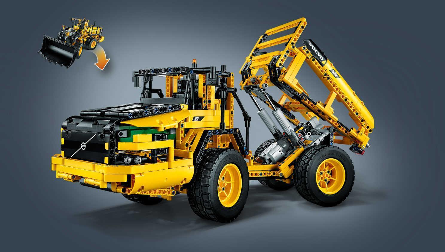 lego technic rc volvo l350 front loader 42030 toys games. Black Bedroom Furniture Sets. Home Design Ideas