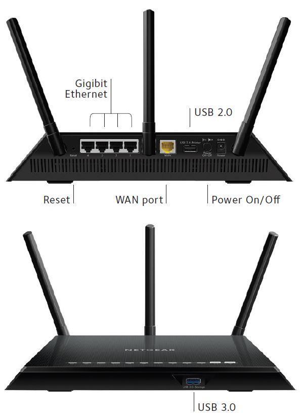 Netgear R6400 Netgear Ac1750 Dual Band Wifi Gigabit Router 2 Years Warranty  R6400-100aus