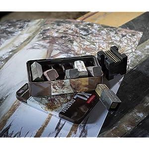 pencil set sketching set charcoal set pencil holder art bag artists materials