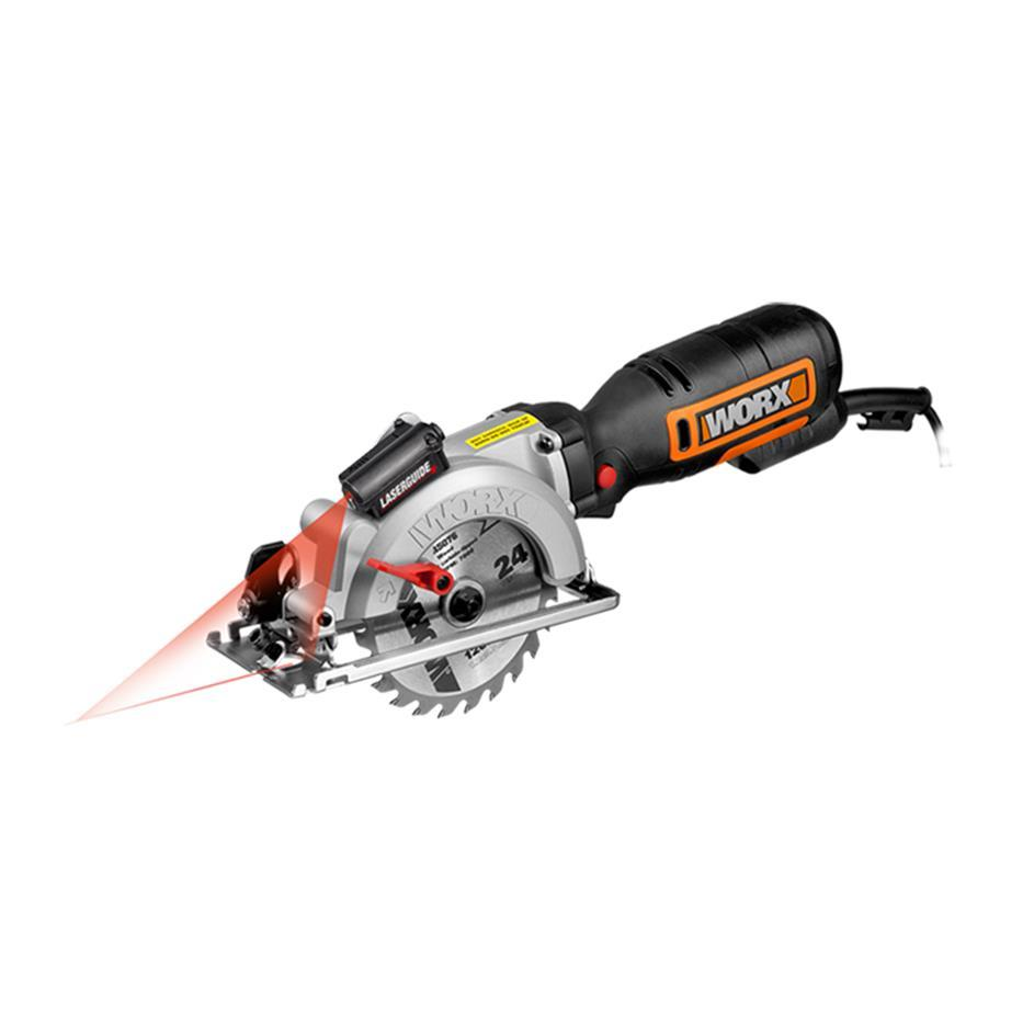 Worx Wx427 Xl 710w Compact Circular Saw Amazon Co Uk Diy