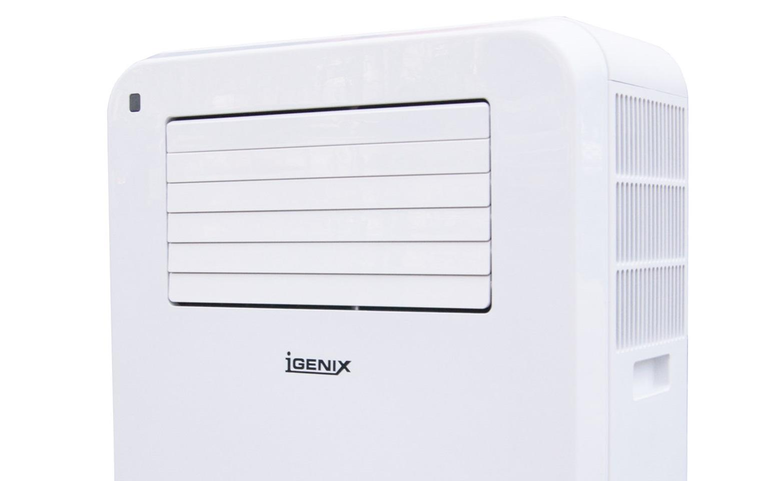 Igenix IG9903 11500 BTU 4 in 1 Portable Air Conditioner 1270 W White  #51517A