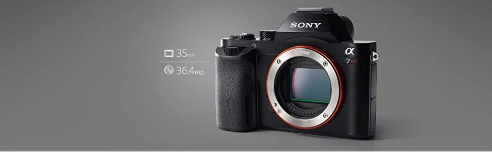 Sony, ILCE7RB, full frame compact system camera body, 36.4,[, 3.0tiltable LCD