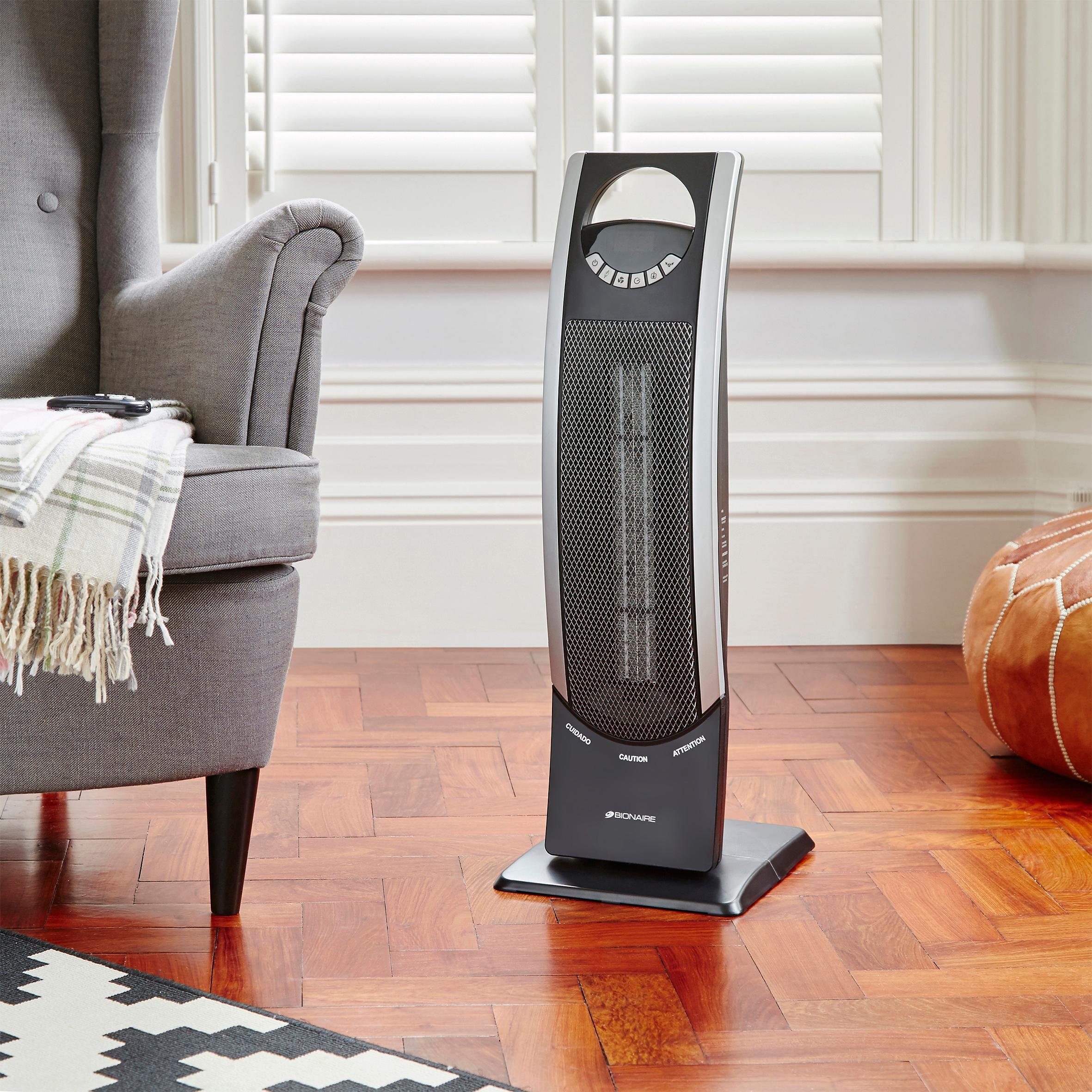 Bionaire 2500w Digital Ceramic Tower Heater Amazon Co Uk