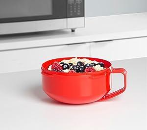 breakfast bowl; microwave bowl; microwave cookware; sistema; breakfast