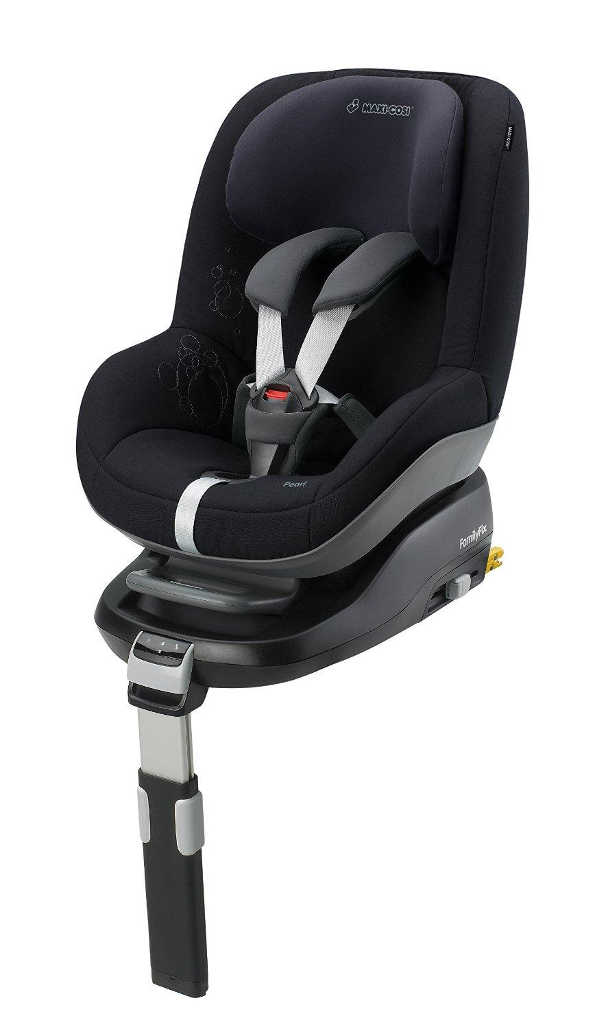maxi cosi pearl group 1 toddler car seat total black. Black Bedroom Furniture Sets. Home Design Ideas