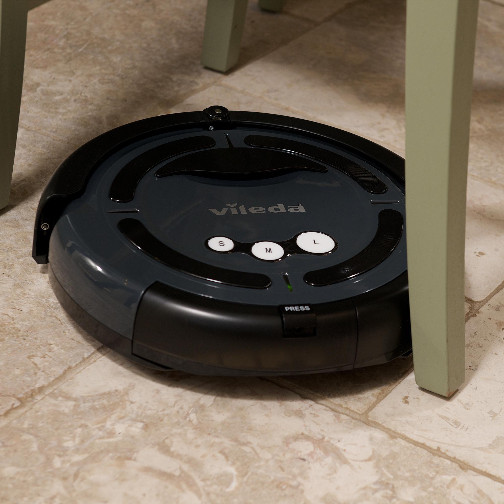 vileda cleaning robotic vacuum cleaner uk version. Black Bedroom Furniture Sets. Home Design Ideas