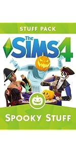 Spooky Stuff, Sims 4