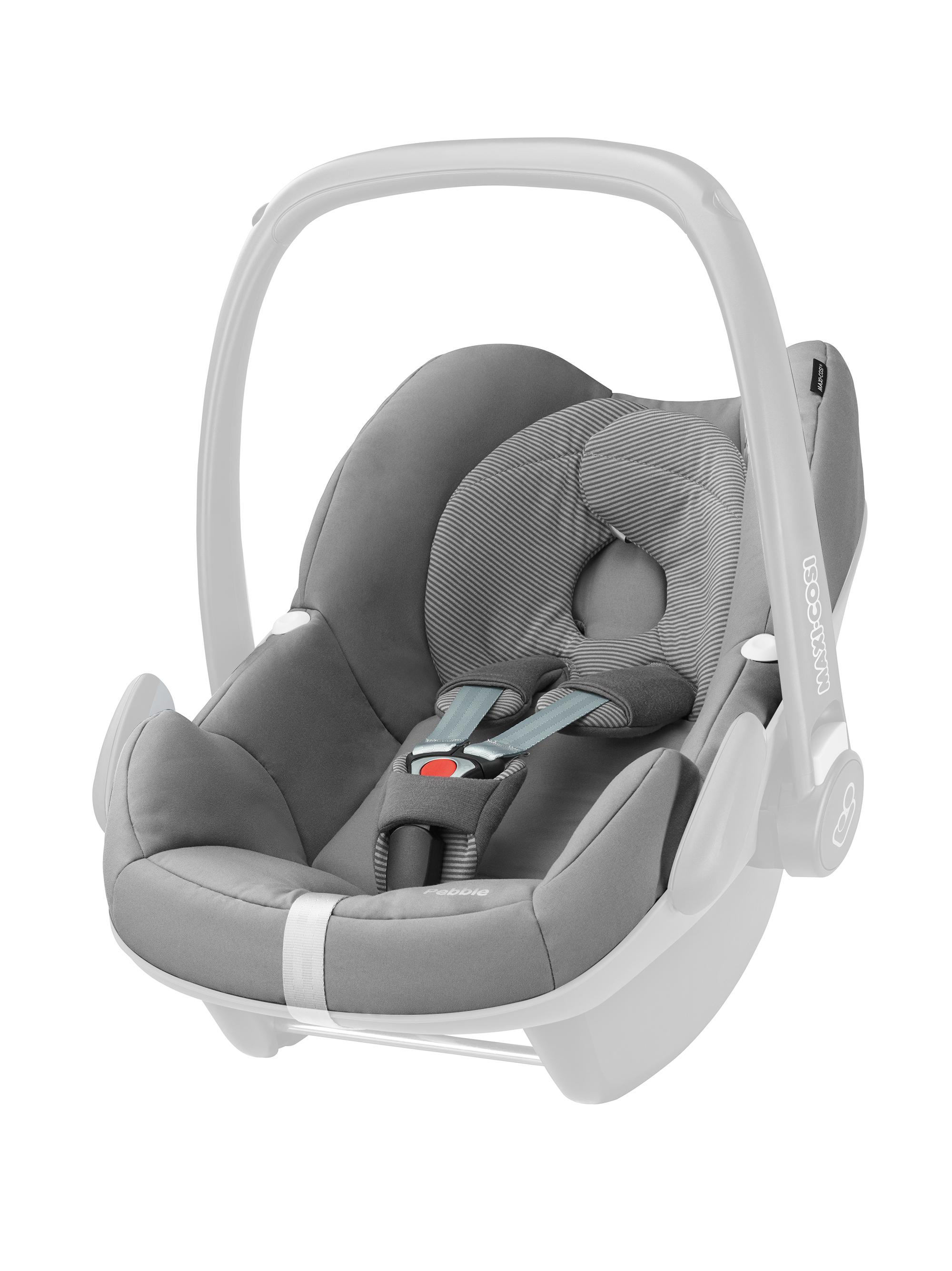 Maxi-Cosi Pebble Car Seat Replacement Cover, Concrete Grey: Amazon ...