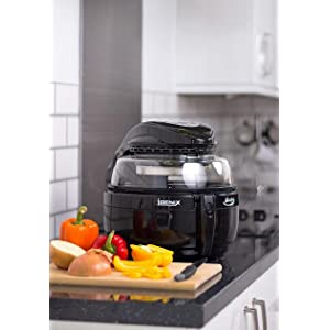 The Igenix IG1190 6-in-1 Multi-Chef is the low fat way to fry, roast, bake, grill, saute and braise.